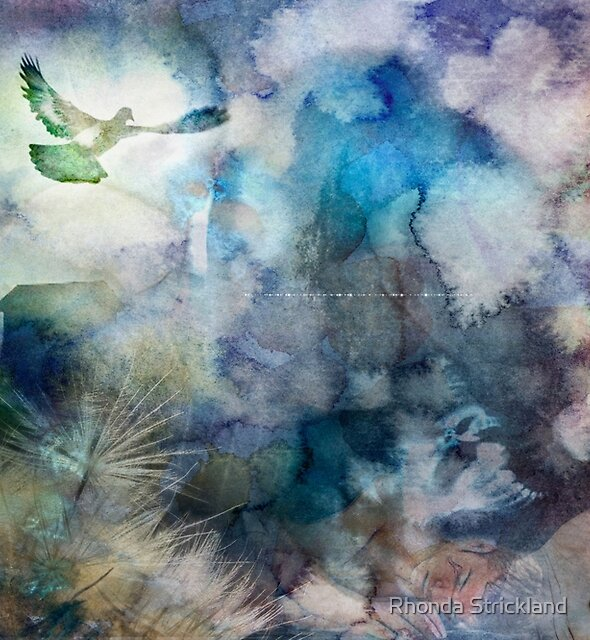 Can't Find My Way Home (image, poem & music) by Rhonda Strickland