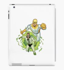 Bulletproof Kid and Wormhole iPad Case/Skin