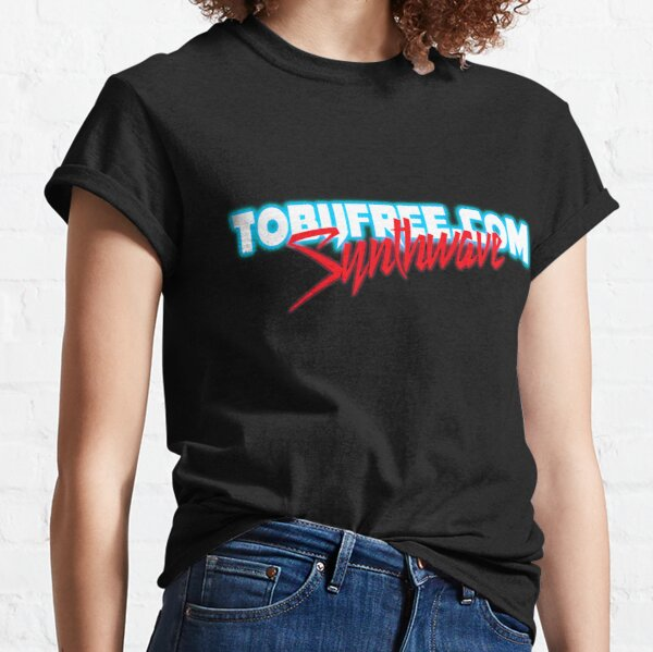 Synthwave Logo Template Classic T-Shirt