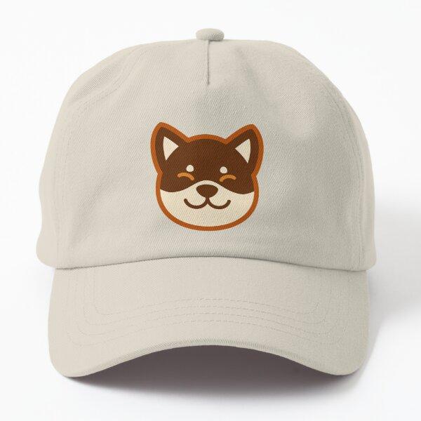 Brown Shiba: Blue Bone Dad Hat
