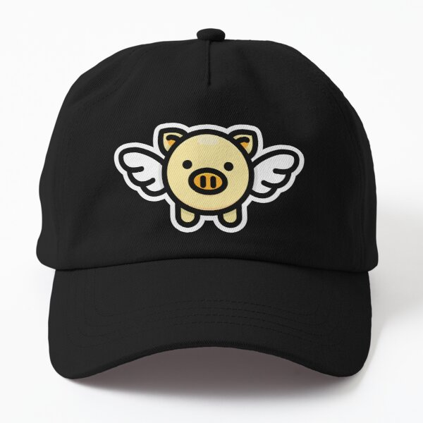 When Pigs Fly: Yellow Dad Hat