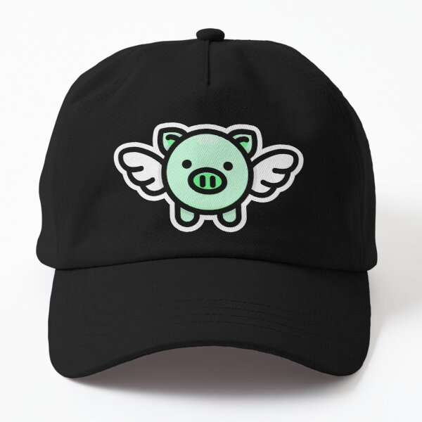 When Pigs Fly: Green Dad Hat