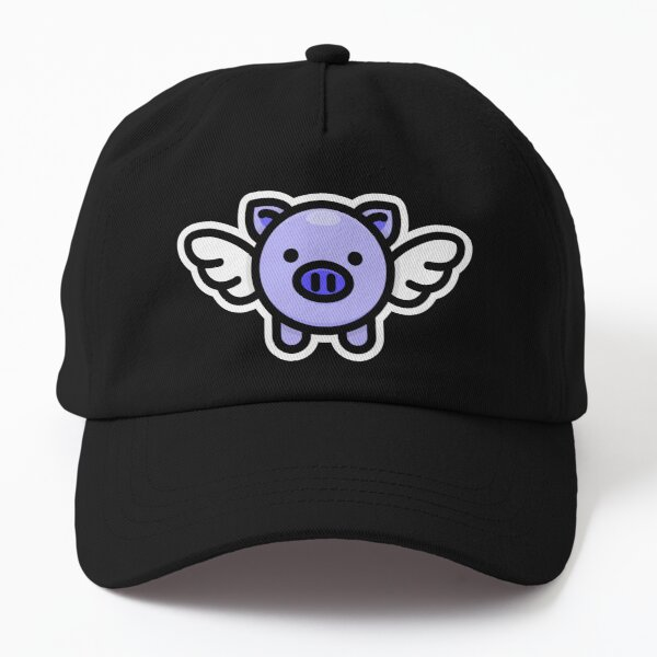 When Pigs Fly: Blue Dad Hat