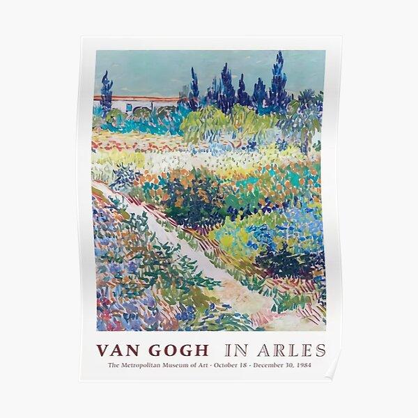 Van in Arles Exhibition Poster