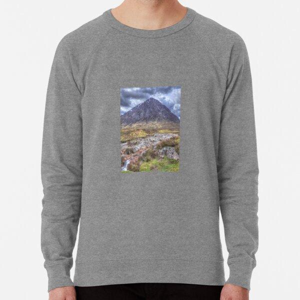 Buachaille Etive Mor in the Highlands of Scotland Lightweight Sweatshirt
