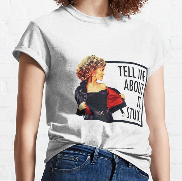 Grease Tell Me About It Stud  Classic T-Shirt