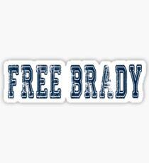 Free Brady! Sticker