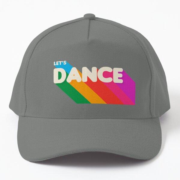 Rainbow dance typography Baseball Cap