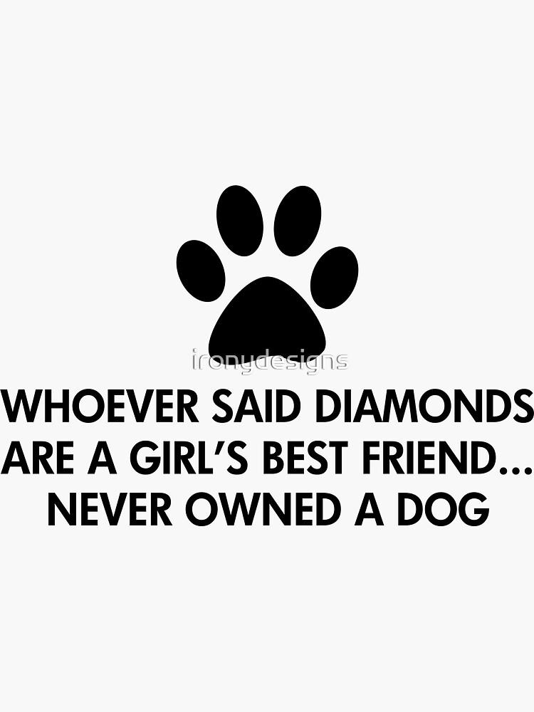 Der beste Freund-Hund des Mädchens von ironydesigns