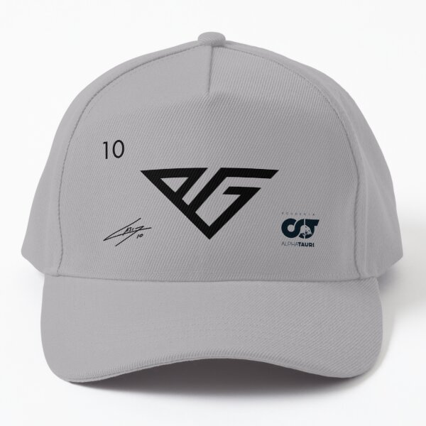 Pierre Gasly - 2021 White Signed AT Customized Baseball Cap