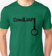 LowLife & JAP Tsurikawa – hang ring (4) Slim Fit T-Shirt