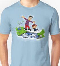 Little Viking and Strong Man Unisex T-Shirt