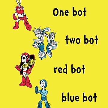 One bot, two bot, red bot, blue bot by PeterParkerPA