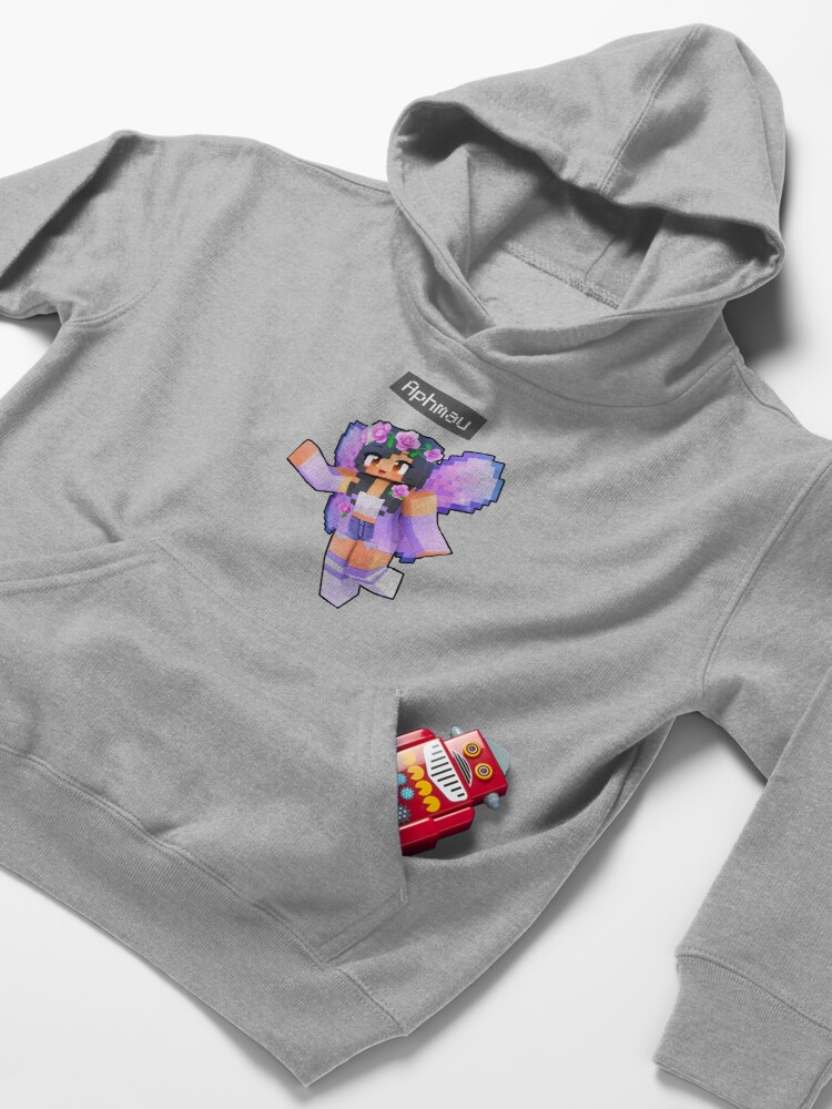 Alternate view of Aphmau Minecraft Magical Fairy  Kids Pullover Hoodie