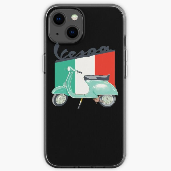 Vespa logo iPhone Soft Case