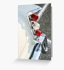 Tail end Greeting Card