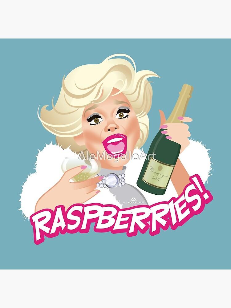 Raspberries! by AleMogolloArt