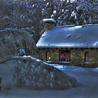Moonlight on the Stone House by Wayne King