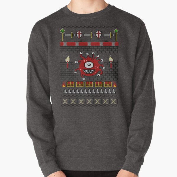 Dungeon - Knitted Style Pullover Sweatshirt