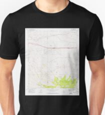 USGS TOPO Map Arizona AZ Mescal 312329 1973 24000 Unisex T-Shirt