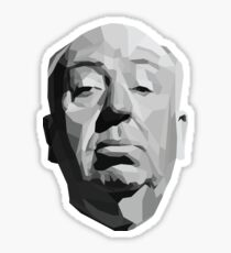 Alfred Hitchcock Geometric Graphic Sticker