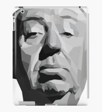 Alfred Hitchcock Geometric Graphic iPad Case/Skin