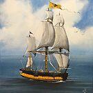 Tall Ship by Jan Szymczuk