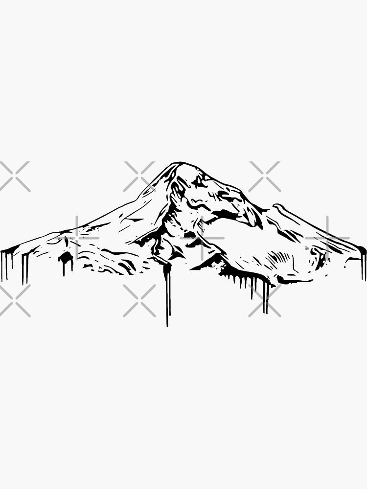 Mt. Hood Black by yeahnoyeah