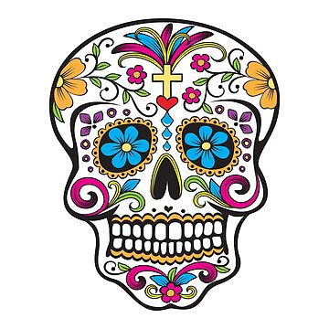 Skull Day of the Dead  by CreativeArtist