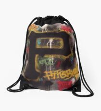 Pittsburgh Grunge Drawstring Bag