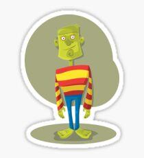 Funny zombie! Sticker