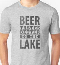 Beer Tastes Better On The Lake Unisex T-Shirt
