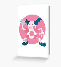Mr. Mime - Basic Greeting Card
