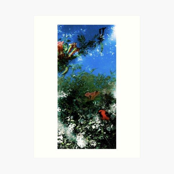 Oriole (detail) Art Print