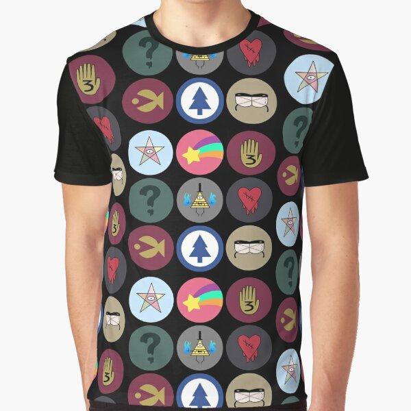 Gravity Falls Cipher Wheel Camiseta gráfica
