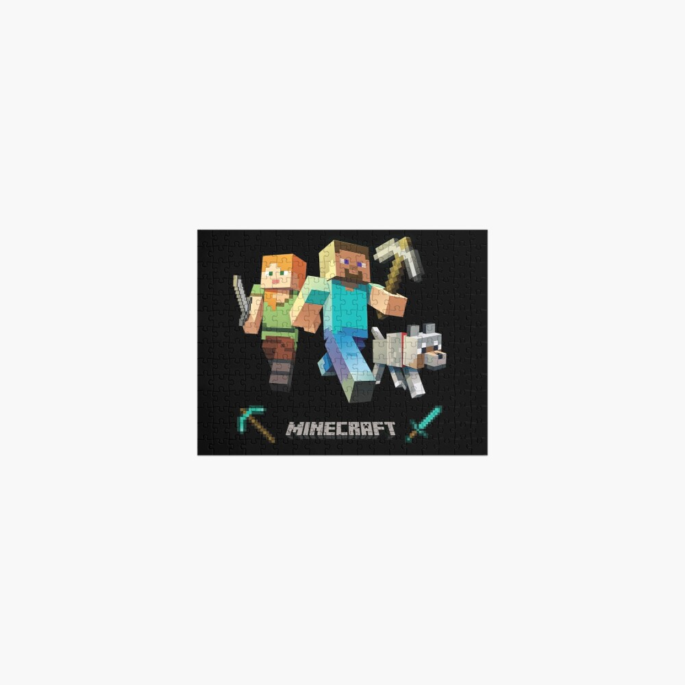 Minecraft Heroes Jigsaw Puzzle