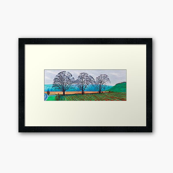 The Arrival Spring Framed Art Print