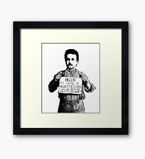 Real Genius Framed Print