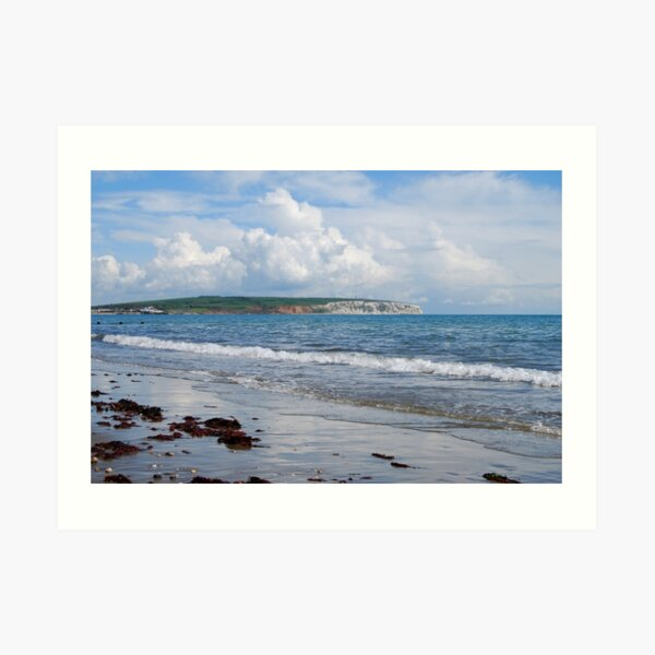 Looking towards Culver Cliff Art Print