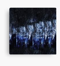 abstract blue black Canvas Print