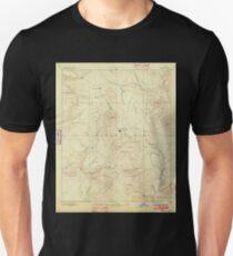 USGS TOPO Map Arizona AZ Prescott 315582 1892 250000 T-Shirt