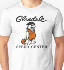 Glendale-Geschwindigkeitszentrum Slim Fit T-Shirt