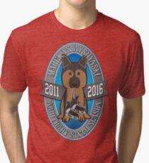 Celebrate the Arbitrary 6th Season of MvsW! Tri-blend T-Shirt