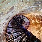 Inside Fire Island Lighthouse by Bill Wetmore