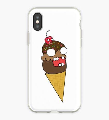 zombie ice cream iPhone Case