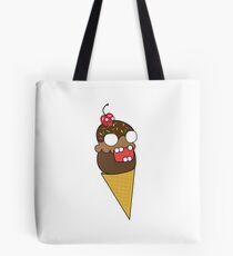 zombie ice cream Tote Bag