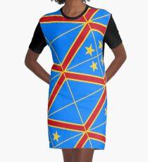 Democratic Republic of the Congo Graphic T-Shirt Dress