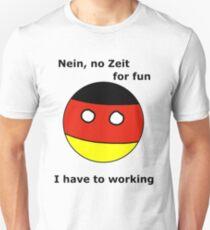 German Countryball Unisex T-Shirt