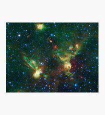 Enterprise Nebulae Without Lines Photographic Print