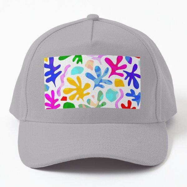 Matisse Summer Love Pattern - Colourful Nature Baseball Cap